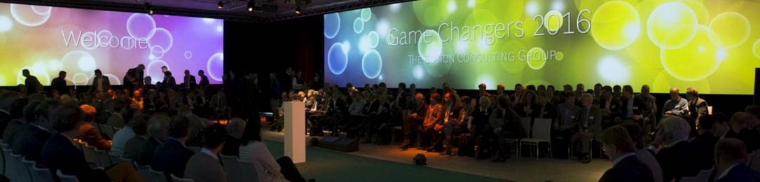 Boston Consultancy Group: GameChangers event